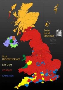 2015 local election results map Momentum